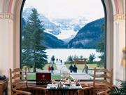 Fairmont Chateau Lake Louise - The Chateau Lounge