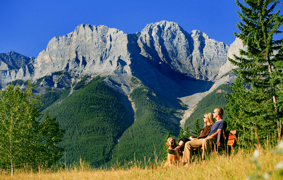 Outdoor Recreation in Banff National Park, Alberta