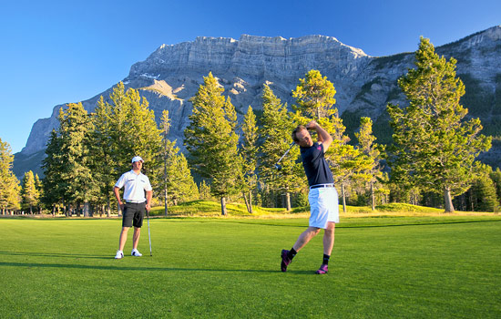 Golfing at world-famous Banff Springs - Golfing at world-famous Banff Springs