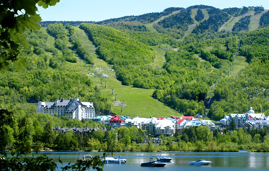 Visiting Mont Tremblant resort town - Visiting Mont Tremblant resort town