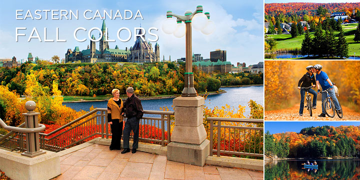 Breathtaking fall colors on Canada train tours