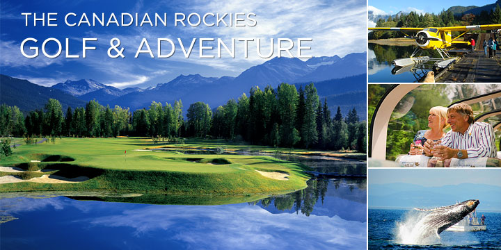 The best of golf train tour of Canada