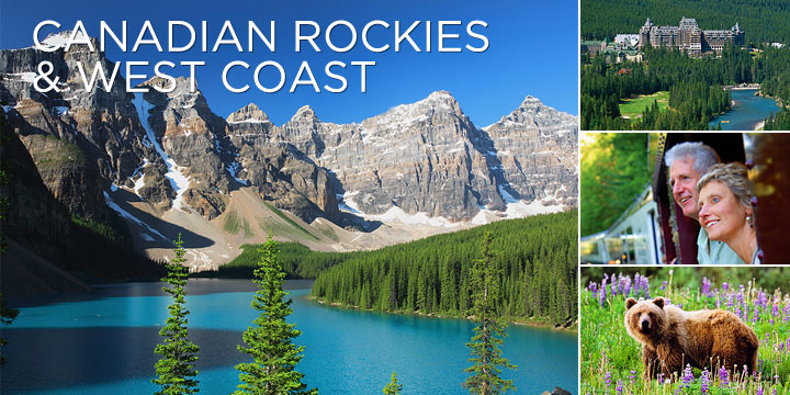 Canadian Rockies And West Coast