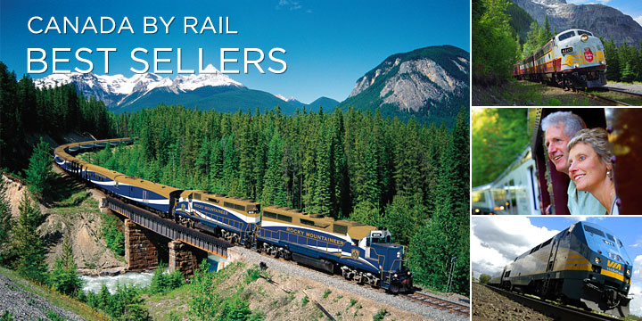 Most popular train trips Canada has to offer