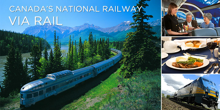 The magic awaits on our Canada railway trips