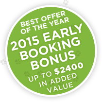2015 Early Booking Bonus