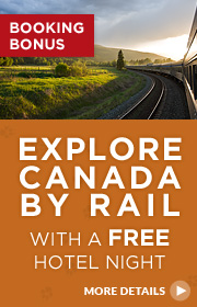Explore Canada By Train Booking Bonus
