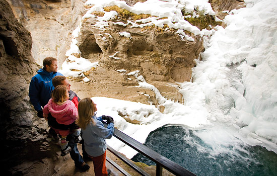 Johnston Canyon - this is your trip, tailor it a little or a lot