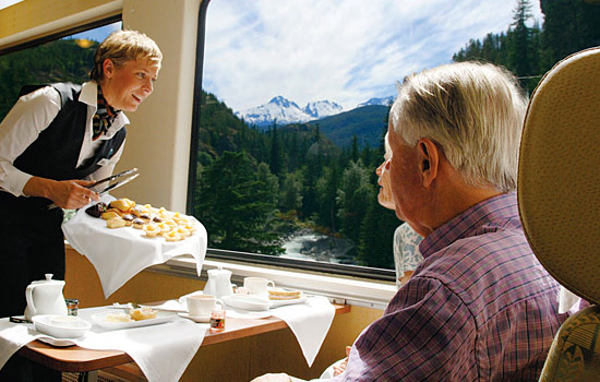 Your train journey begins in Jasper.