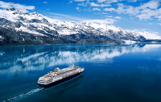 After a night in Vancouver, cruise into Alaska.