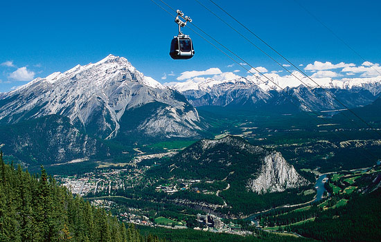 Spend two full days in Banff exploring the town and its surroundings.