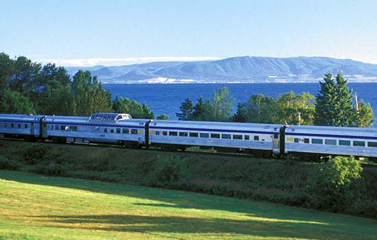 Canadian railway - Canadian train - Travel for one night onboard the Via Rail 'Ocean' train to Nova Scotia