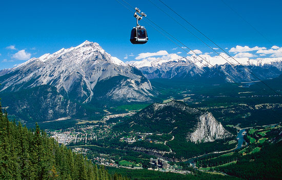 Start in Banff, the perfect base for an adventure in the Canadian Rockies.