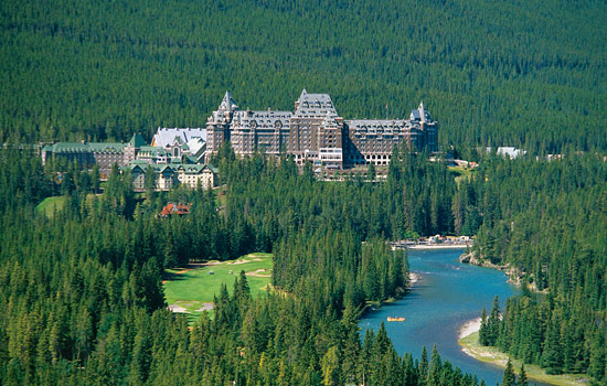 Rocky Mountaineer - Canada rail - Play golf at the world famous Banff Springs golf course or enjoy a spa treatment.