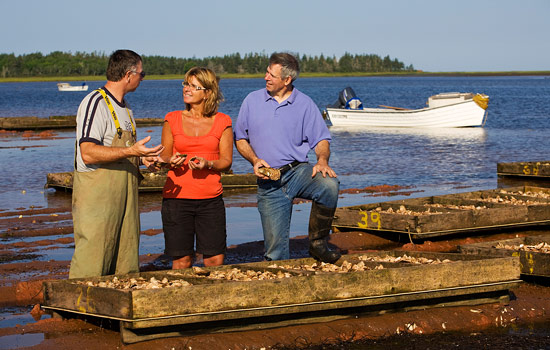 Learn about the local economy of fishing and seafood production.