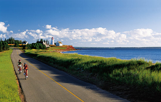 Drive or ride through scenic fishing villages, steeped in Canadian maritime history.