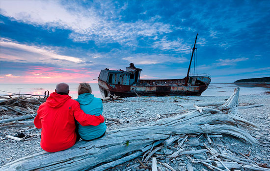 Start your adventure on beautiful, mysterious and diverse Anticosti Island.