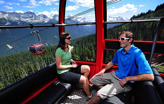 Rocky Mountaineer - Canada rail - Spend a day discovering scenic Whistler with a chance to ride the Peak to Peak gondola.