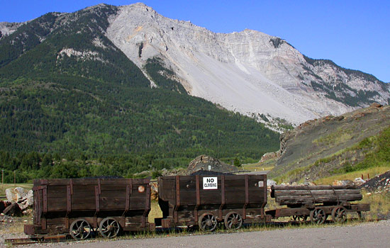  - Discover the Crowsnest Pass's mining history, and the story of the tragic Frank Slide.