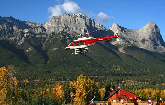 A heli-hiking adventure awaits you in Banff National Park.
