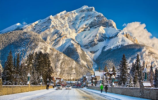 Explore Banff, one of the liveliest towns in the Canadian Rockies.