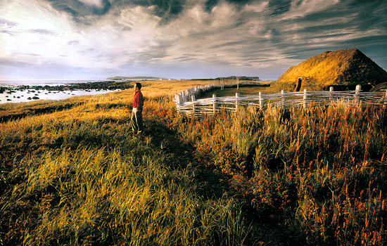 Visit mysterious remains of viking explorers at L'Anse Aux Meadows.